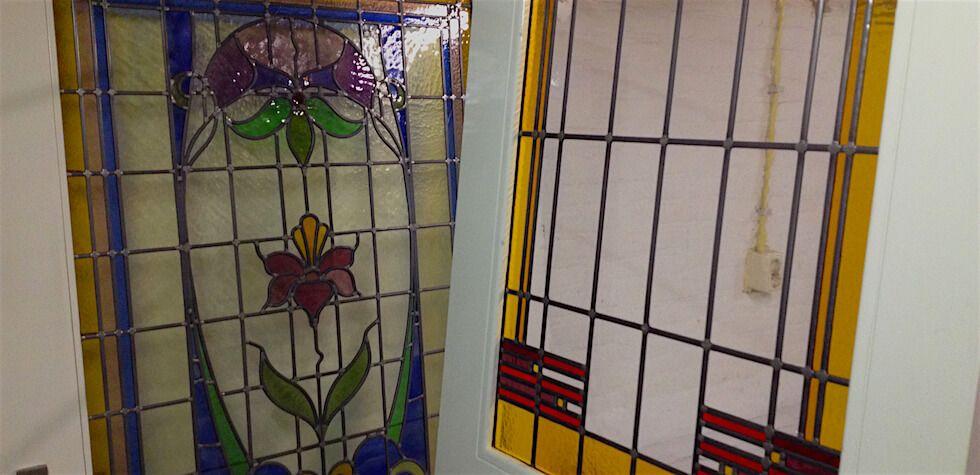 glas in lod deur